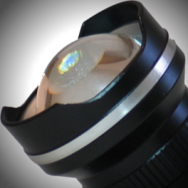 The Lighthouse Beacon's convex lens focusing technology creates an even distribution of light.