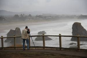PFM Bandon Cliff Photo Shoot
