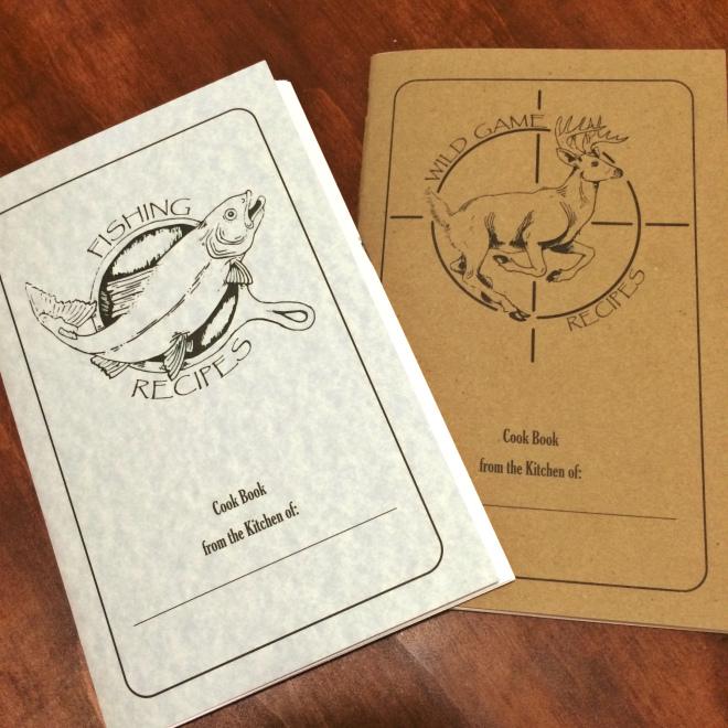 Wild Game Recipe Book Set
